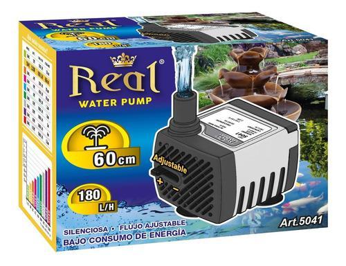 Bomba Agua Sumergible Acuario Fuente Pecera 180l/h 60cm 5041