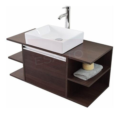 Esatto® Mueble Baño Detc Platz Lavabo Ovalin Llave