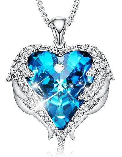 Espectacular ! Collar Corazon Diamante Swarovski Regalo Amor