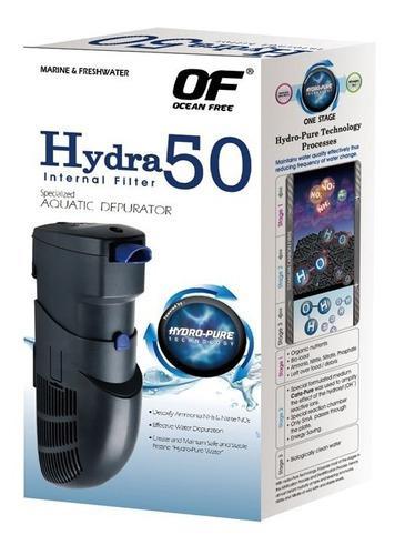 Filtro Hydra 50 Para Acuarios De Agua Salada Y Agua Dulce