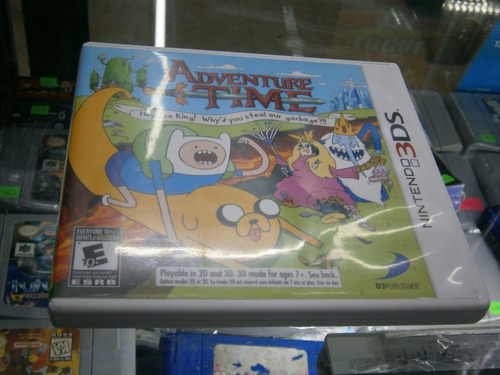 * Longaniza Games * 3ds Y 2ds Adventure Time