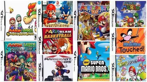 Mario Kart Nintendo Ds, Pack 10 Juegos, Para Android