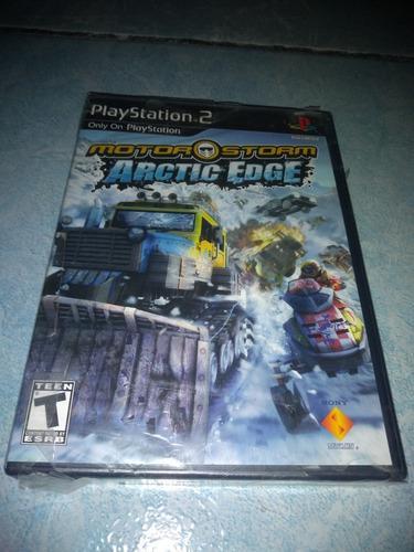 Playstation 2 Video Juego Motor Storm Artic Edge Nuevo