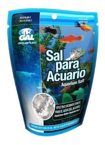Sal Para Acuario De Agua Dulce Lomas 300g Peces Pecera 300l