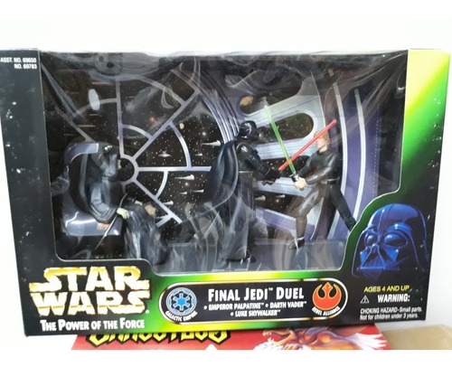 Star Wars The Power Of The Force Final Jedi Duel