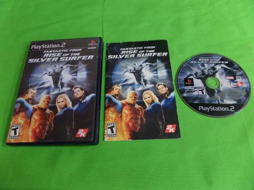 Video Juego Fantastic Four Rise Of The Silver Surfer Ps2