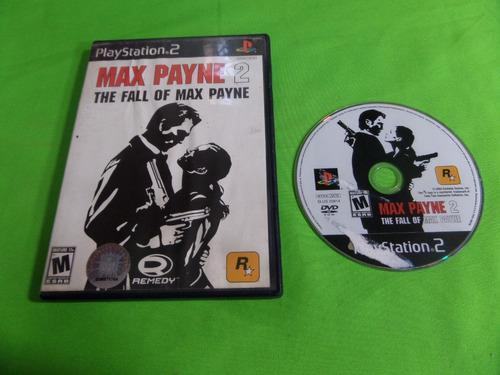 Video Juego Original Max Payne 2 The Fall Of Max Payne Ps2