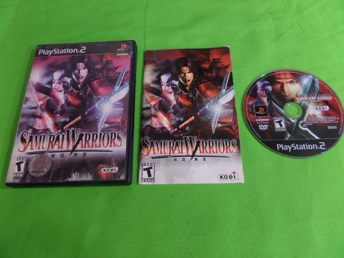 Video Juego Original Samurai Warriors Ps2 Completo