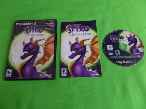 Video Juego Original Spyro The Ethernal Night Ps2 Completo