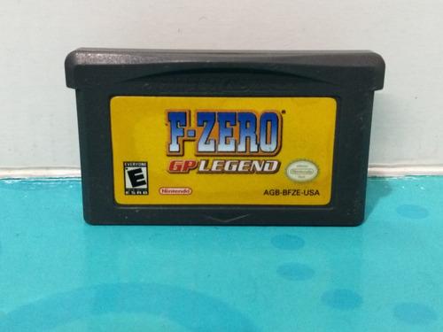 F Zero Gp Legend - Game Boy Advance - Garantia