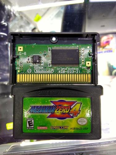 * Longaniza Games * Game Boy Advance Mega Man Zero 4