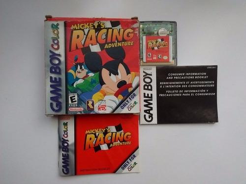 Mickeys Racing Adventure Game Boy Color Gbc En Game Reaktor