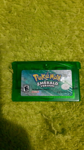 Pokemon Esmeralda Game Boy Advance (solo Cartucho)