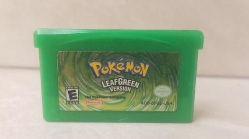 Pokemon Leaf Green Original A Solo $600 Pregunta!