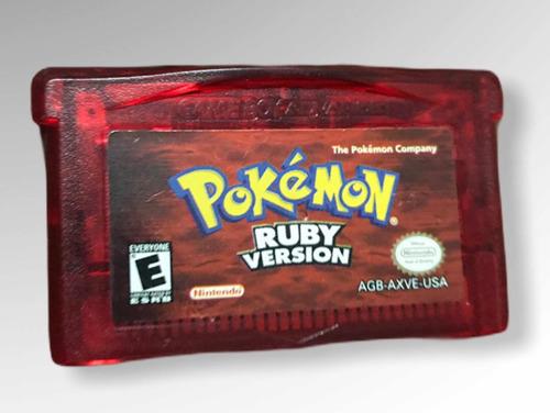 Pokemon Ruby Para Game Boy Advance Original
