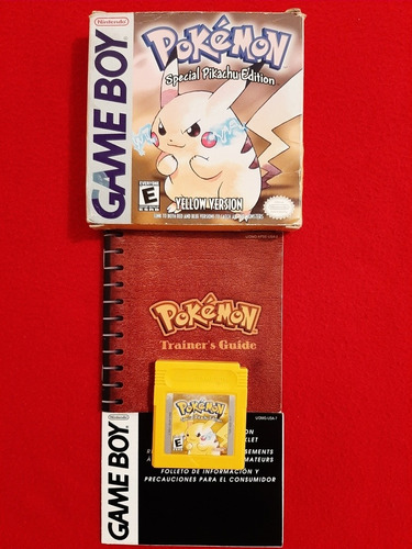 Pokemon Yellow Version Pikachu Para Gameboy Color