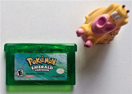 Pokémon Emerald Game Boy Advance Gba * Mundo Abierto Vg * *