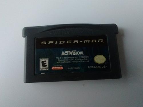 Spiderman Gba Spider Man Game Boy Advance