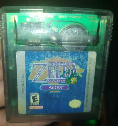 The Legend Of Zelda Oracle Of Ages Gameboy Color
