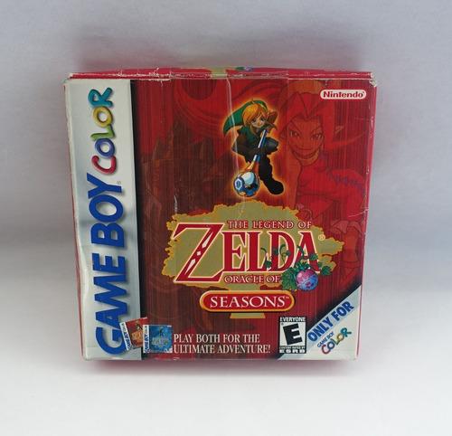 The Legend Of Zelda Oracle Of Seasons Game Boy Color Gbc