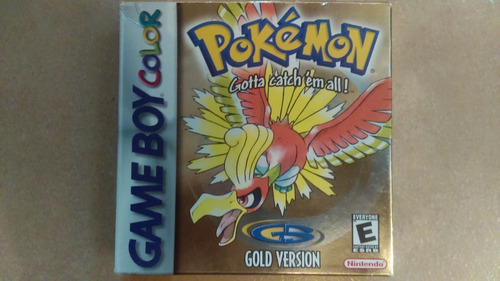 ¡pokémon Gold Version! Game Boy Color Nintendo Original