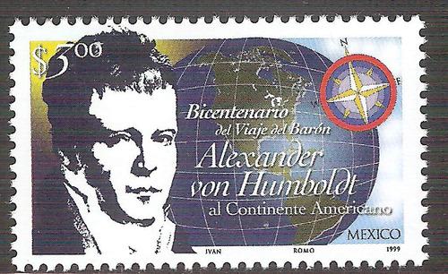 Alexander Von Humboldt Sc  Mnh Rosa De Los Vientos