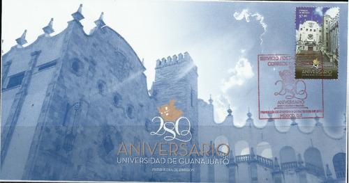 Fdc Universidad De Guanajuato Sc  Sobre Primer Día
