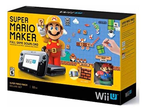 Nintendo Wii U Super Mario Maker Deluxe Set 32 Gb