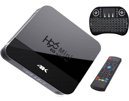 Tv Box Smart 4k Ultra Hd Wifi Android 9 Hdmi Teclado