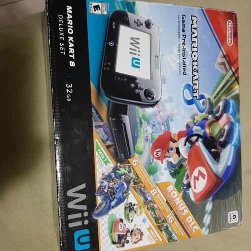 Wii U Mario Kart 8 Deluxe Set 32gb