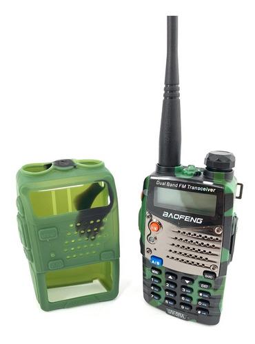 10 Radio Baofeng Uv-5ra Doble Banda Vhf Uhf Uv-5r Camuflado