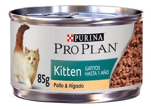 Alimento Para Gato Hasta 1 Año Kitten Pollo 85 G Pro Plan