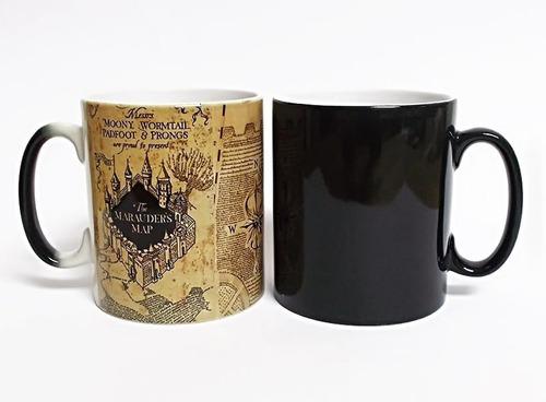 Mapa Del Merodeador Taza Magica Harry Potter Negra