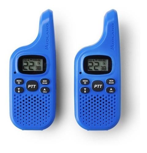 Par De Radios Midland X Talker T Km* 22 Canales Escaneo