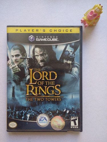 The Lord Of The Rings Two Towers Game Cube