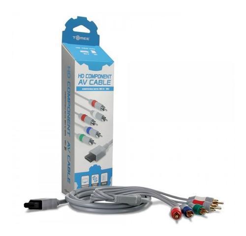 Cable Componente Hdtv Para Wii Y Wii U Original Tomee