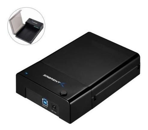 Gabinete Usb 3.0 Para Disco Duro 3.5 O 2.5 Hasta 8tb Win Mac