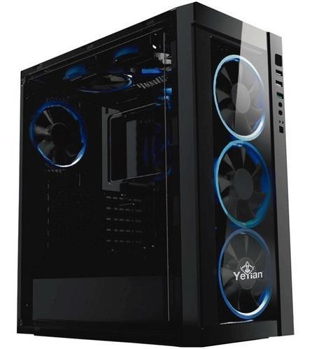 Gabinete Yeyian Gaming Blade 2100 Ventilador Led Azul Us /vc