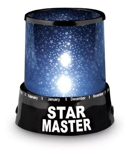 Lampara Led Colores Proyector De Estrellas Luz - T