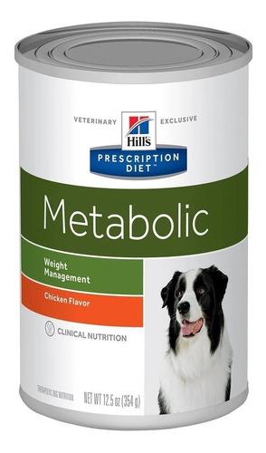Lata De Alimento Hills Metabolic Para Perro