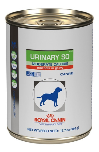 Royal Canin Urinary So Moderate Calorie Morsels Gravy 368 Gr