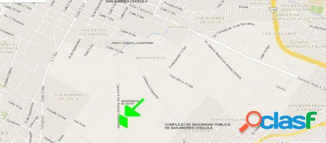 Terreno residencial en venta en Pueblo San Antonio