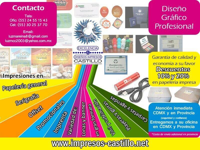 VARIAS IMPRESIONES DE CALIDAD Y DESCTOS.