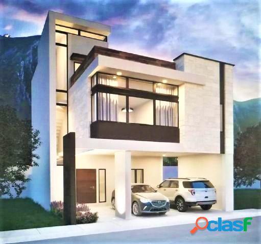 Casa Nueva en Venta en Dominio Cumbres, Santoral, García,