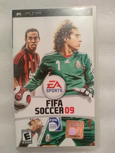 Fifa Soccer 09 Psp Sony Playstation