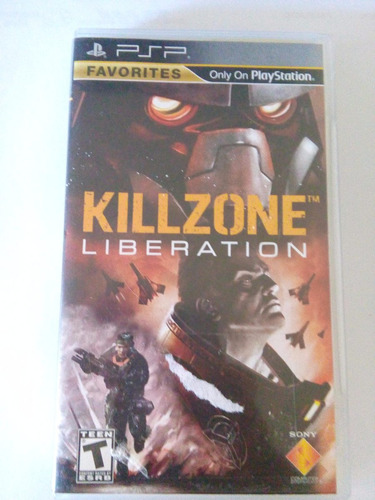 Killzone Liberation Psp Playstation Trqs Portable Sony