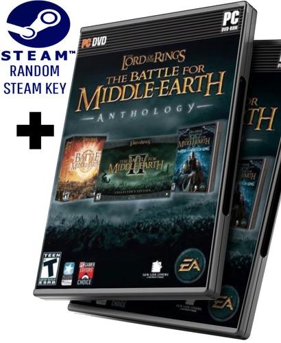 Random Steam Key + El Señor De Los Anillos La Batalla Por