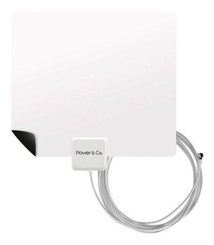 Antena Power And Co Xf550 Hd Uhf Alta Definicion Ultra Delga