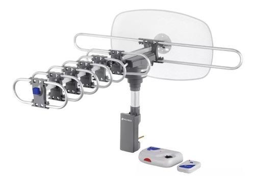 Antena Tv Digital Hd Giratoria Con Cable Coaxial - 48114