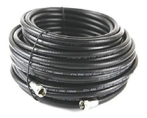 Cable Extension Coaxial Para Antena Tv Rg6 10 Metros
